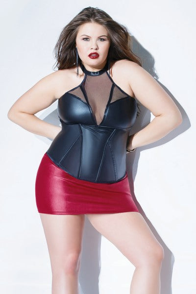 Kissed Matte Diva Bustier