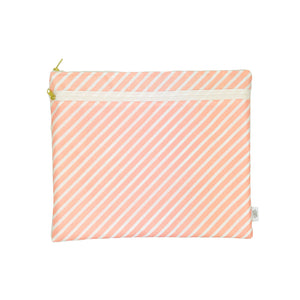 Blush Stripe Wet + Dry Portfolio - Lifetique