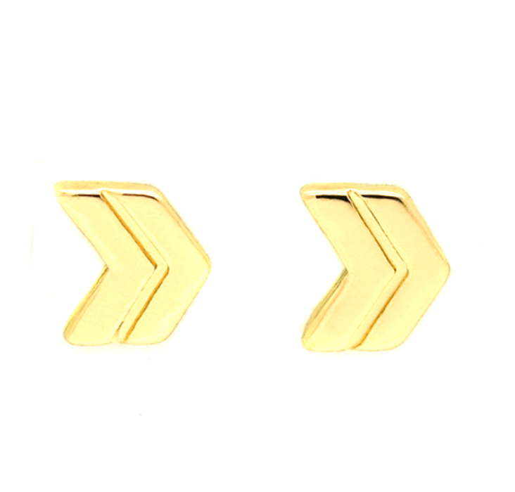 Chevron Earrings - Lifetique