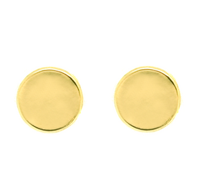 Round Disc Earrings - Lifetique
