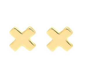 X Shape Earrings