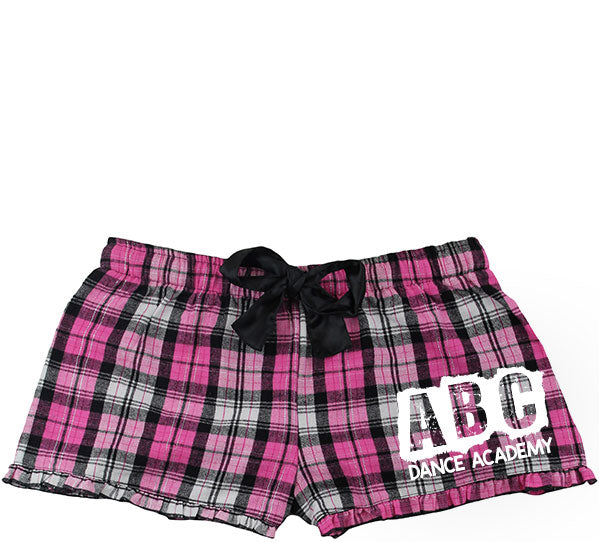 ABC Flannel Shorts