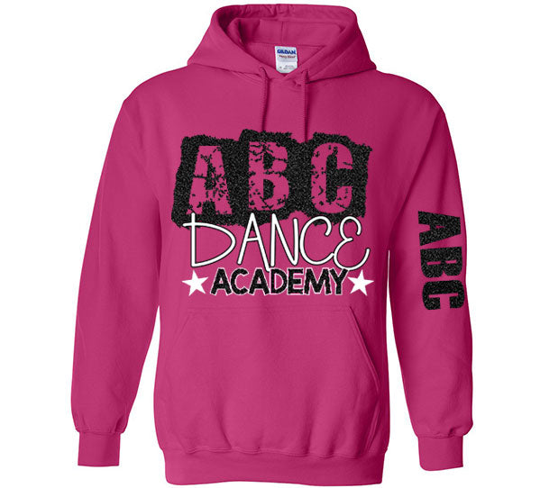 ABC Hooded Sweatshirt Pink