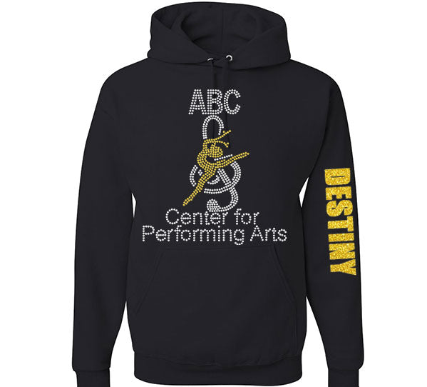 ABC Center for Performing Arts Rhinestone Hoodie