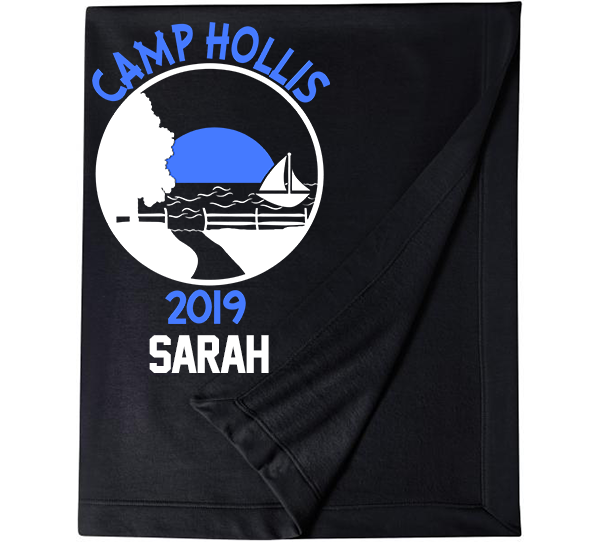Camp Hollis Logo Stadium Blanket-3 Colors