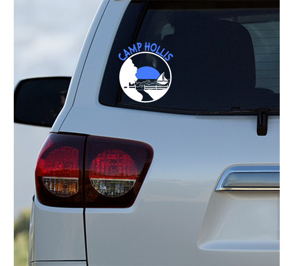 Camp Hollis Car Decal-More Color Options