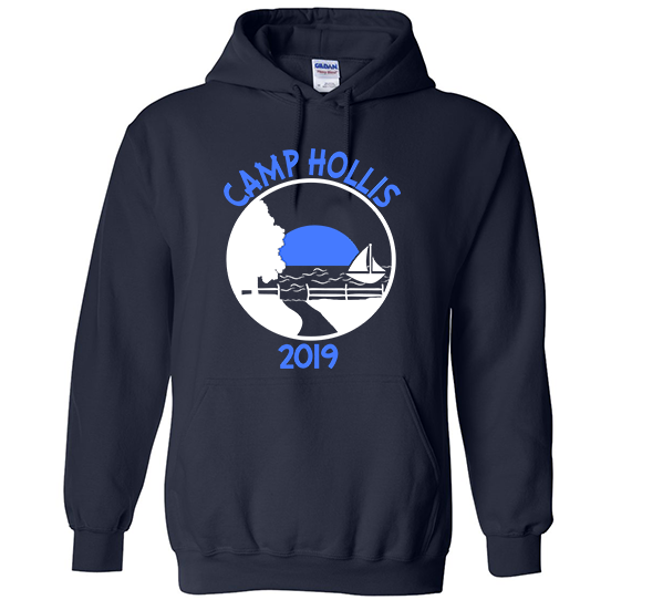 Camp Hollis Hooded Sweatshirt-3 Colors