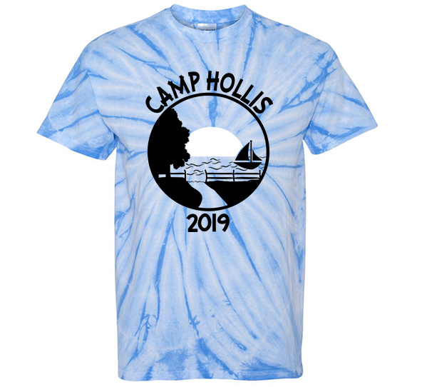 Camp Hollis Tie Dyed Shirt
