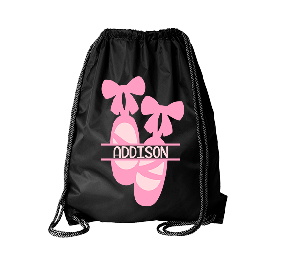 Dance Monogrammed Cinch Bag