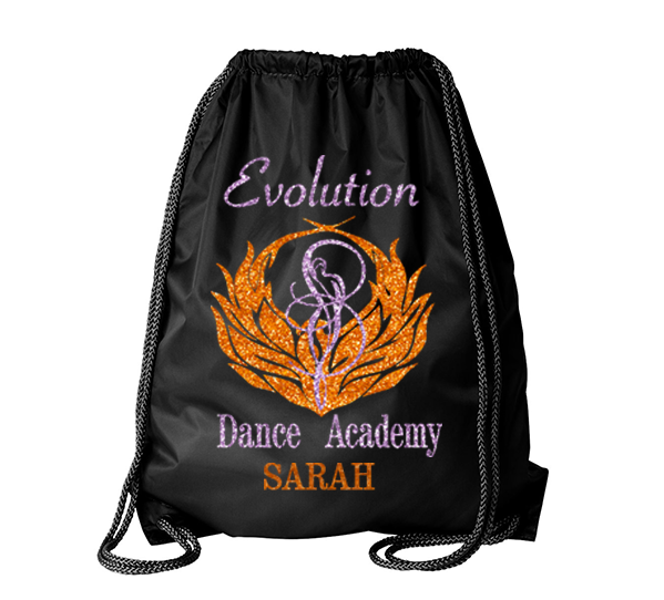 Evolution Dance Academy Cinch Backpack
