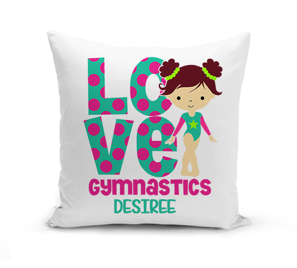 Love Gymnastics Pillow