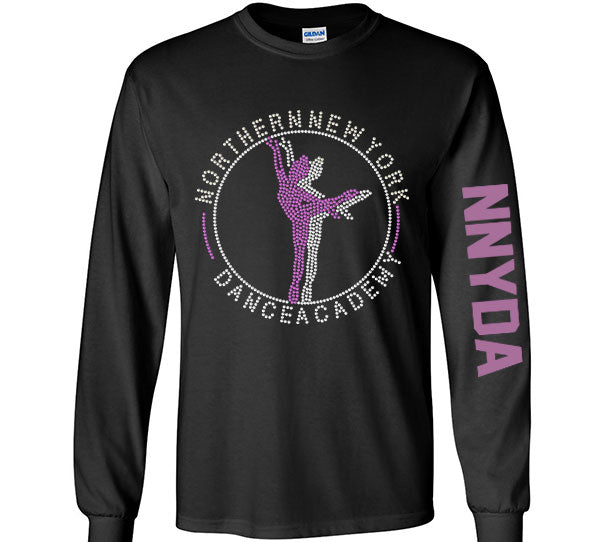 NNYDA Long Sleeve Rhinestone Shirt