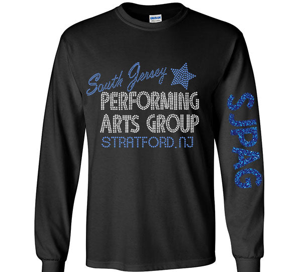 SJPAG Rhinestone Long Sleeve Shirt