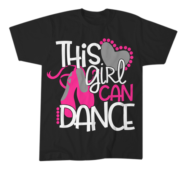This Girl Can Dance T-Shirt