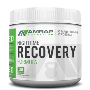Nighttime Recovery: Natural Formula Used To Improve Sleep & Speed-Up Recovery.