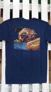 John Bramblitt's Two Dogs Wearable Art