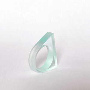Sea Glass Support Ring