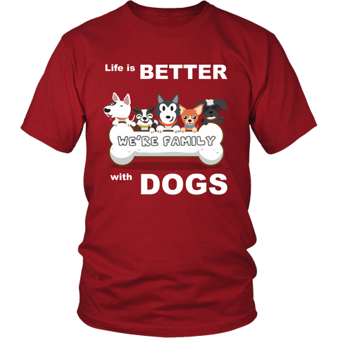 Unisex Shirt for Dogs Lover: