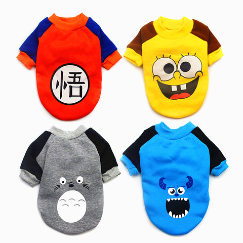 Pajamas Love Bear Costumes for Small Dogs and Puppy Coat Hoodies Outfit