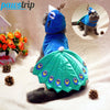 Image of [HOT] Luxury Peacock Cat Costume for Haloween 2017