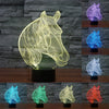 Image of Horse LED Lamp 3D for Horse Lover
