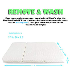 Waterproof Pack N Play Mattress