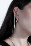 Dangle Crystal Ear cuff