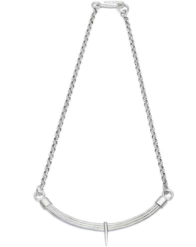 Silver Choker Chain Necklace For Women