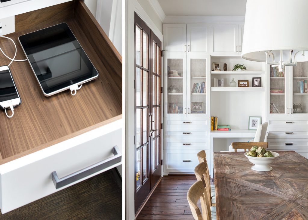 Unplug & Unwind: Marie Flanigan Interiors Features Docking Drawer