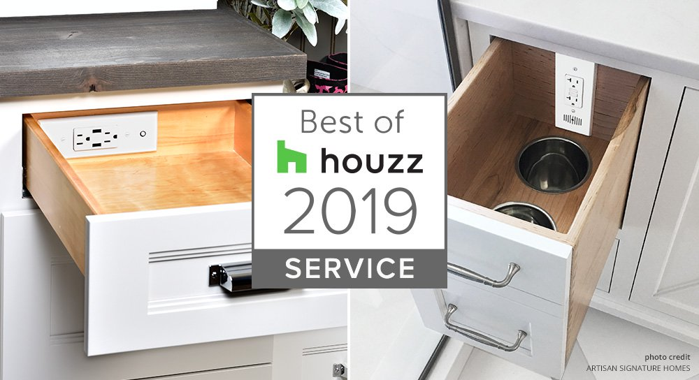Docking Drawer Wins Best Of Houzz 2019 For Customer Service