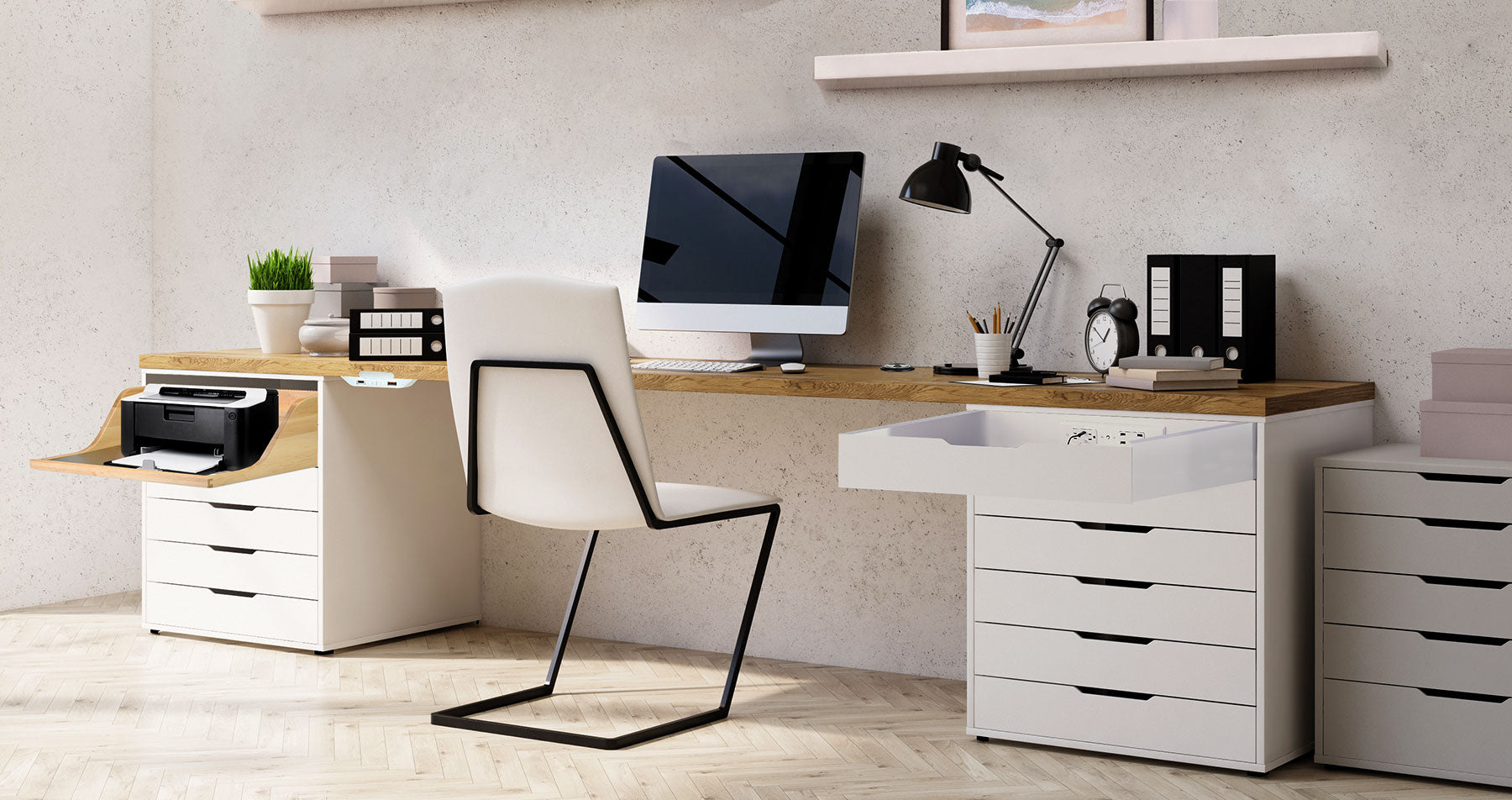 Home Office Design: How to Create a Highly Functional Workspace with Docking Drawer