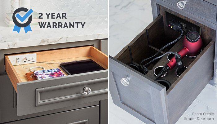 Docking Drawer 2 Year Warranty