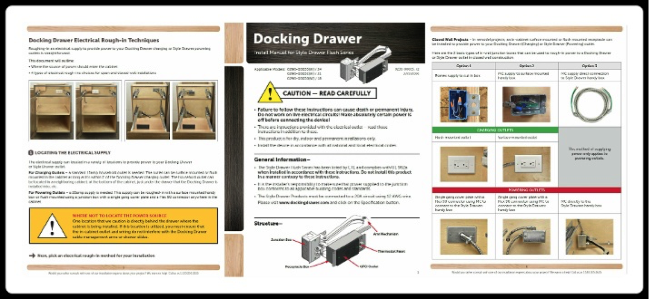 How to and When to Use the Docking Drawer Resource Libraries