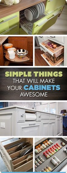 Simple Things to Make Your Cabinets Awesome