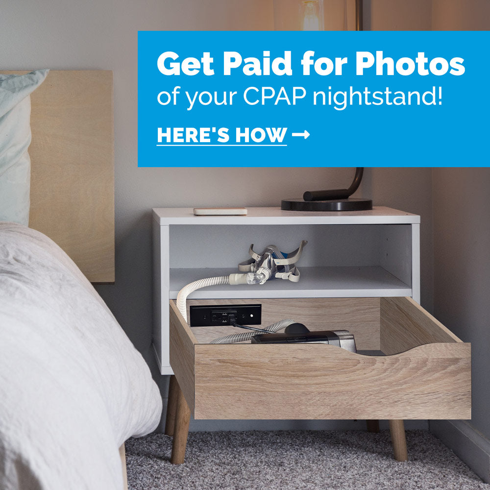 Get paid for photos of your CPAP nightstand