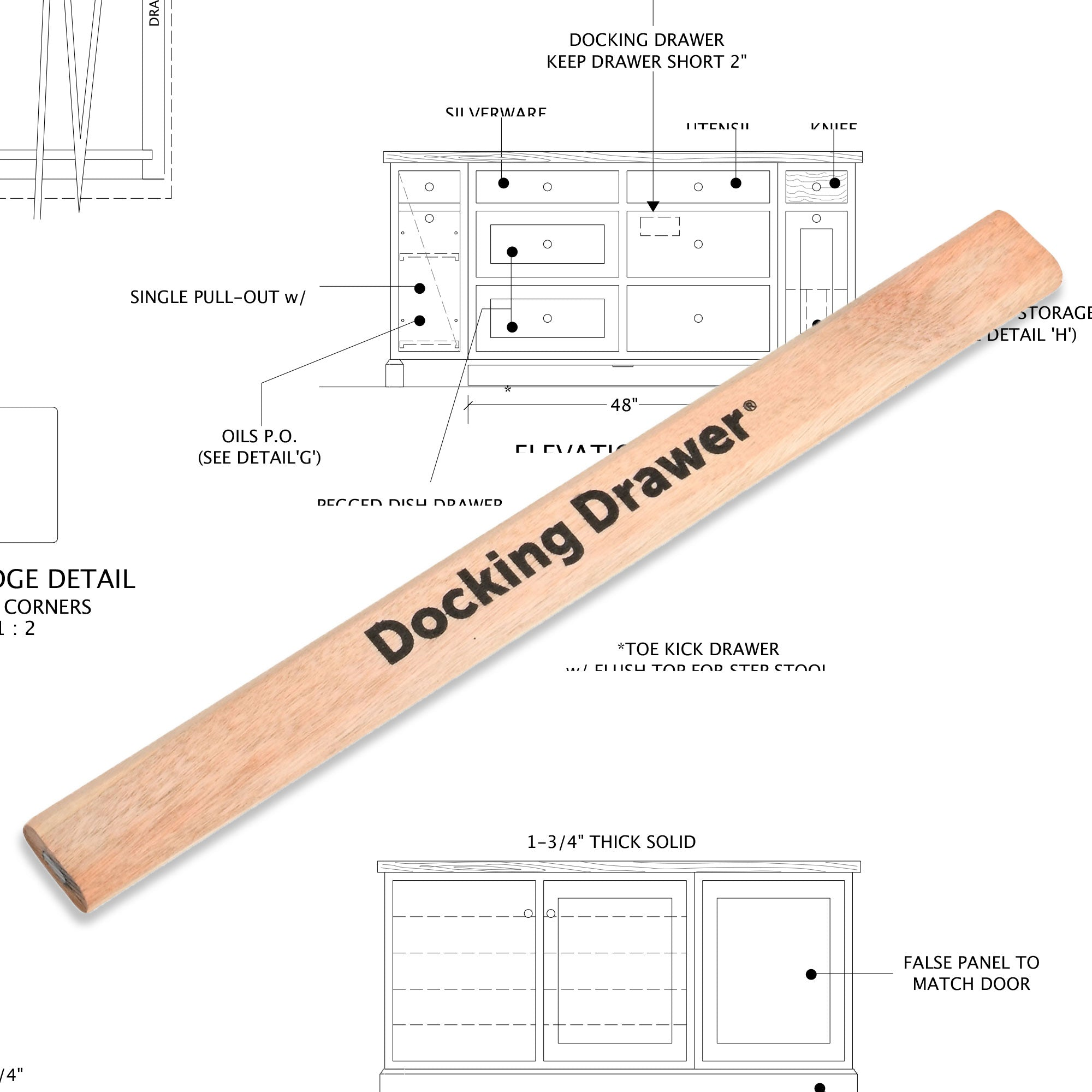 Docking Drawer Pencil