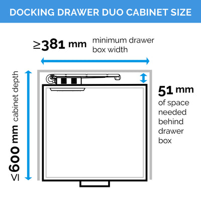Docking Drawer Duo