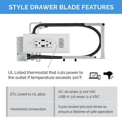 Style Drawer Blade Powering Series