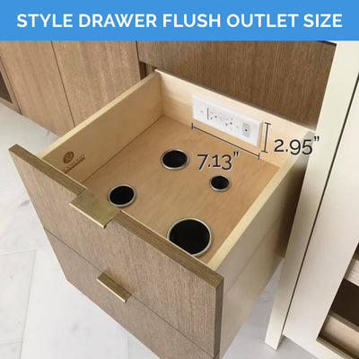 Style Drawer Flush Series