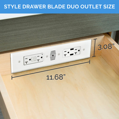 Style Drawer Blade Duo - Deep Cabinet Solutions