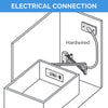 bathroom drawer power outlet