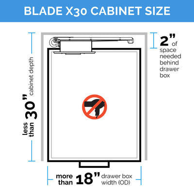 Blade Charging Series - Deep Cabinet Solutions