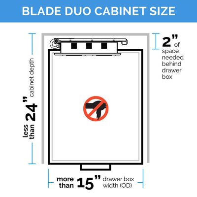 Blade Duo Charging Series - Side Cord Exit and Custom Cord Length Solutions