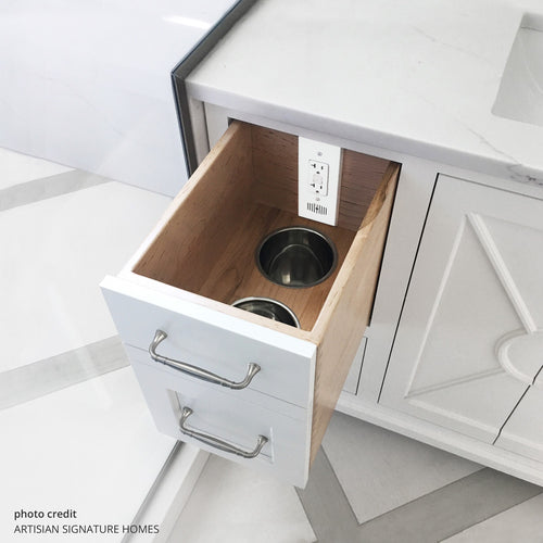 vanity drawer pull out
