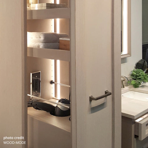 bathroom drawer pullout