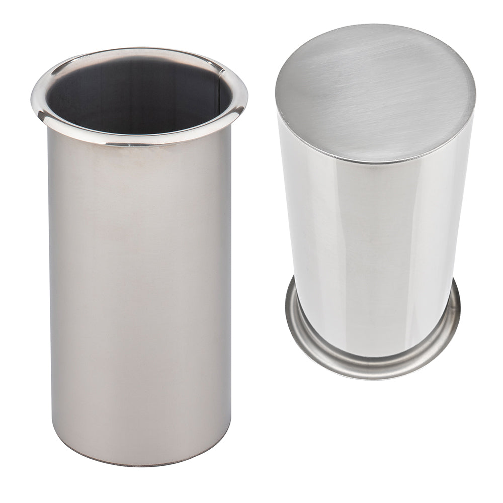 Docking Drawer closed bottom canisters