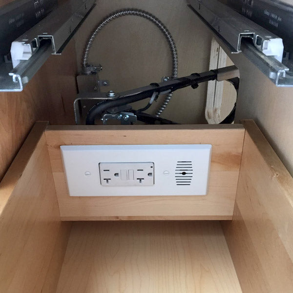 narrow drawer in drawer outlet