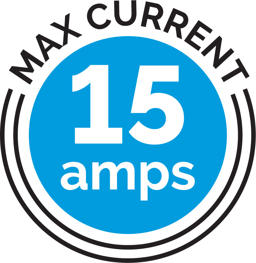 Max current 15 amps icon
