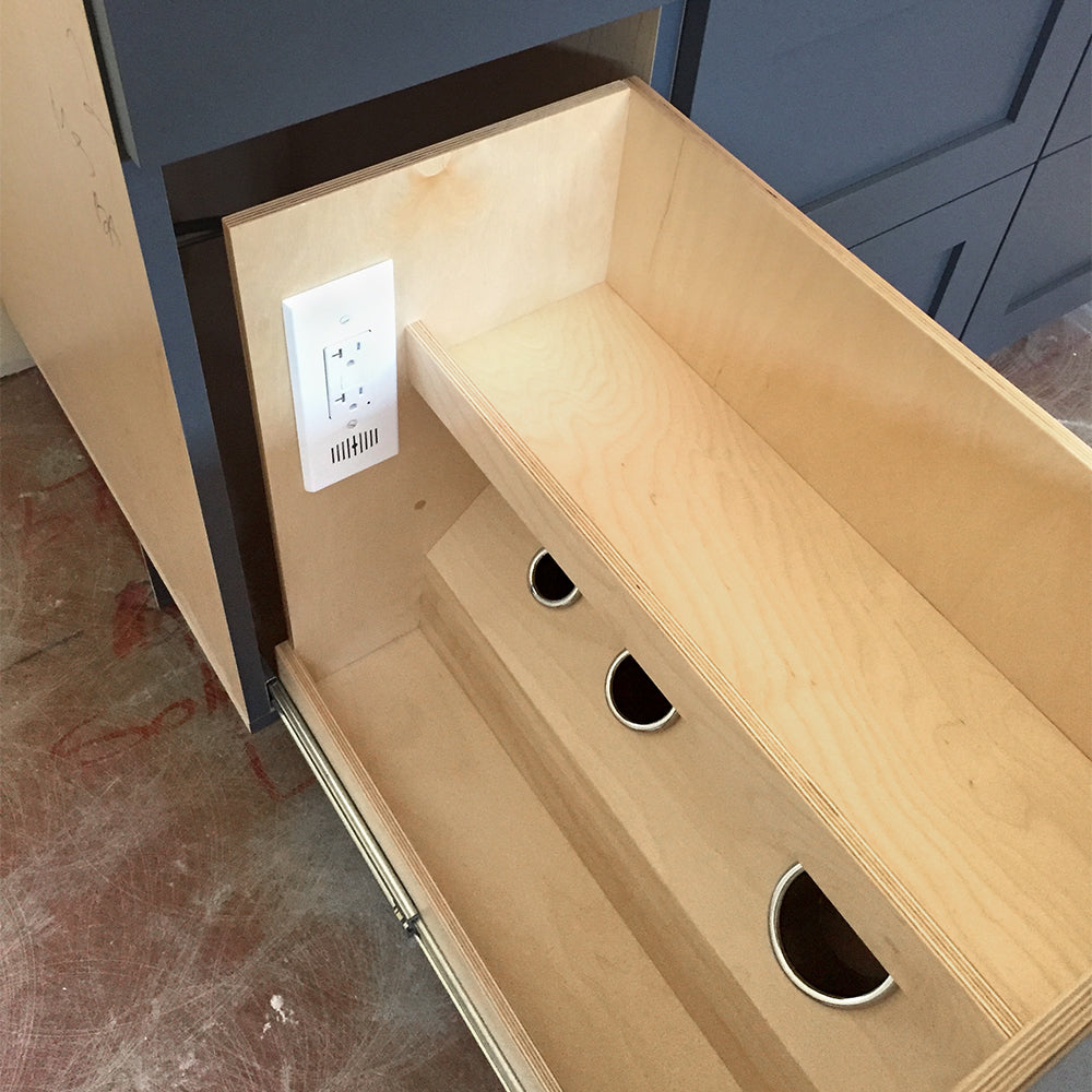 vanity outlet installatiion