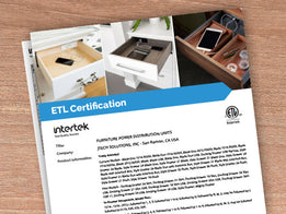 Docking Drawer Electrical Certifications